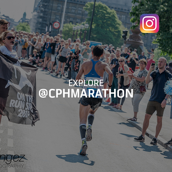 Follow Copenhagen Marathon on Instagram